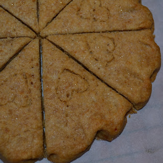 Gingerbread Shortbread