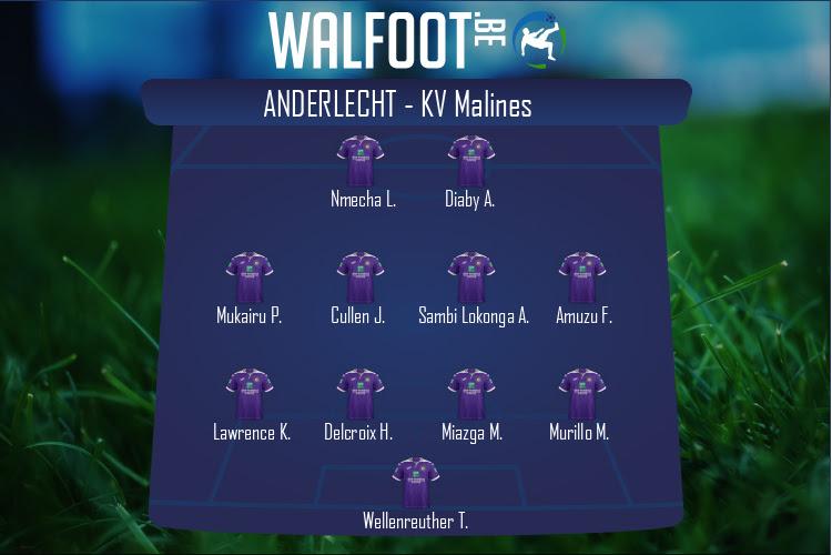 Anderlecht (Anderlecht - KV Malines)