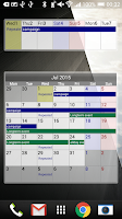 Screenshot of Calendar Pad