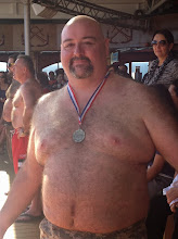 Photo: Dave took 3rd place and avoided the final round where the 2 guys had to borrow women's clothing items from the crowd