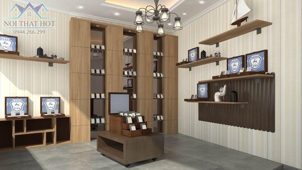 thiết kế cửa hàng bật lửa zippo chất lượng cao