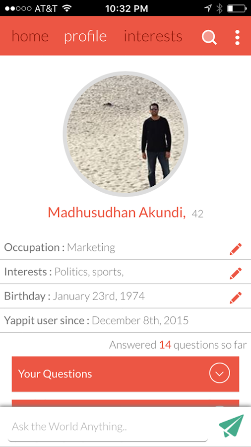 Yappit- screenshot