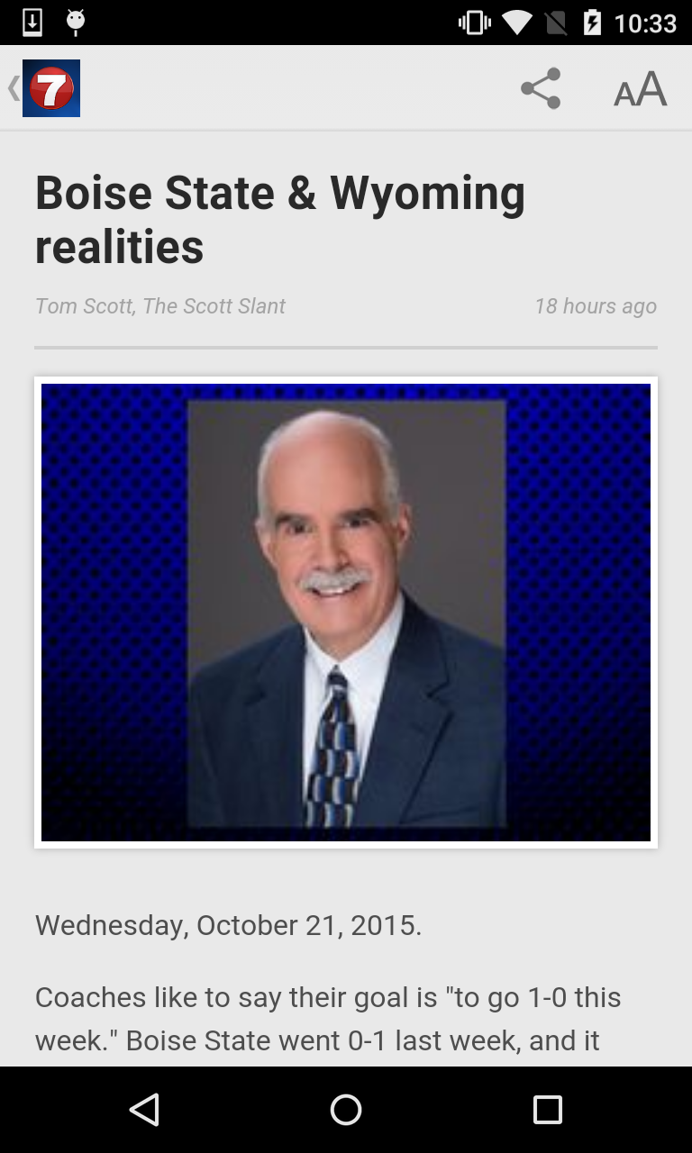 Idaho News & Weather from KTVB (Android) reviews at Android