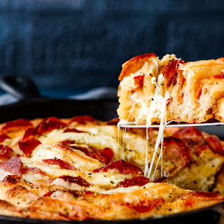 Swiss Cheese and Pepperoni Spiral Recipe