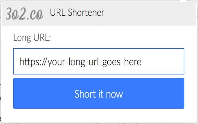 3o2.co - The URL shortener