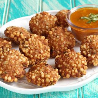 Indian Fried Dumplings [Vegan, Gluten-Free].
