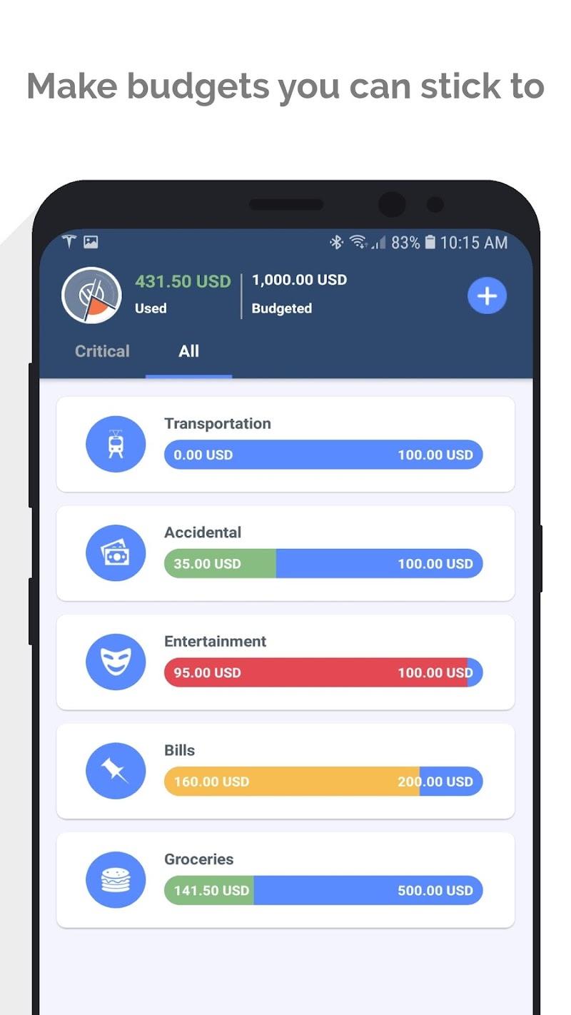 MoneyWiz 3 - Fiat & Crypto Screenshot 5