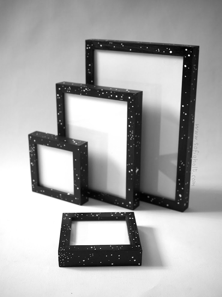 """Item: 6 Name: """"Mormor"""" Size: two 13.5x13.5, 20x24.5 and 25x34 cm Current highest bid: 2,000,000 vnd (all together) More pictures: https://tinyurl.com/mormorframes"""