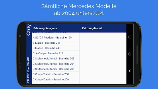 Carly für Mercedes – Miniaturansicht des Screenshots