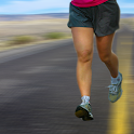 Run on the road icon