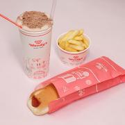 Hot Dog'n Supashake + Chips