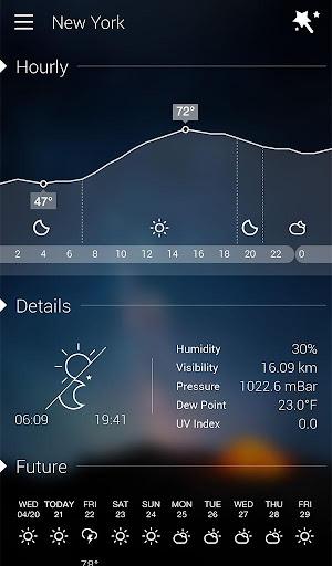 GO Weather Forecast & Widgets screenshot 20