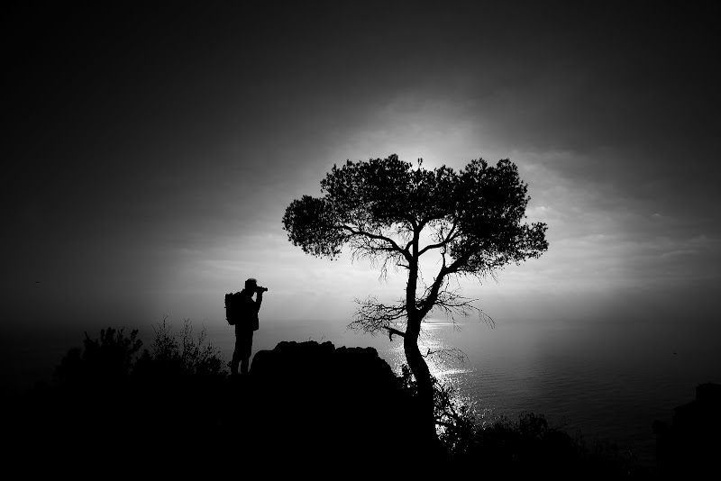 il fotografo fotografato di Sil-M