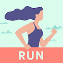 Running for weight loss app icon