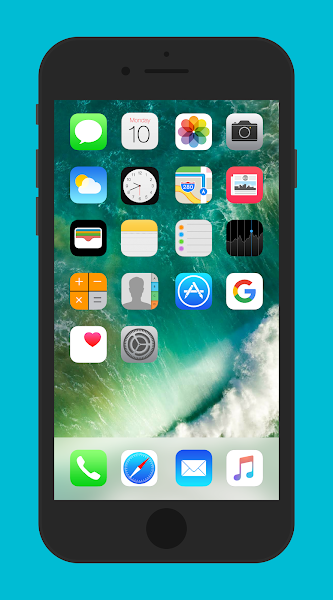 IOS 10 for KLWP vVersion
