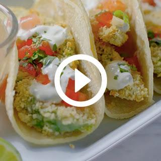 How to Make Crispy Avocado Tacos.