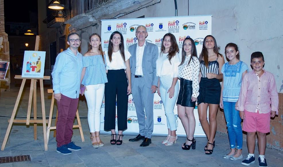 Els representants de l'Olivereta en les Festes Patronals de la Vall d'Uixó