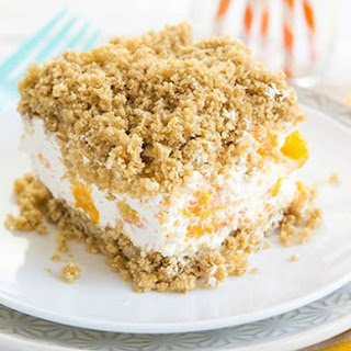 Frozen Creamsicle™ Crunch Cake