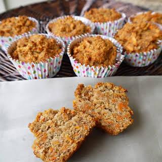 Carrot Cake Breakfast Muffins (paleo, gluten-free).