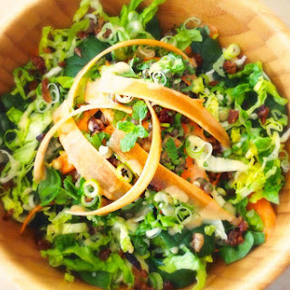 Green Lentil Salad With Spiced Carrots [Vegan].