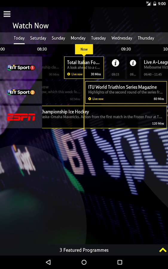 BT Sport - Android Apps on Google Play