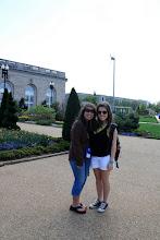 Photo: Washington DC botanical gardens with my danceline co-captain!