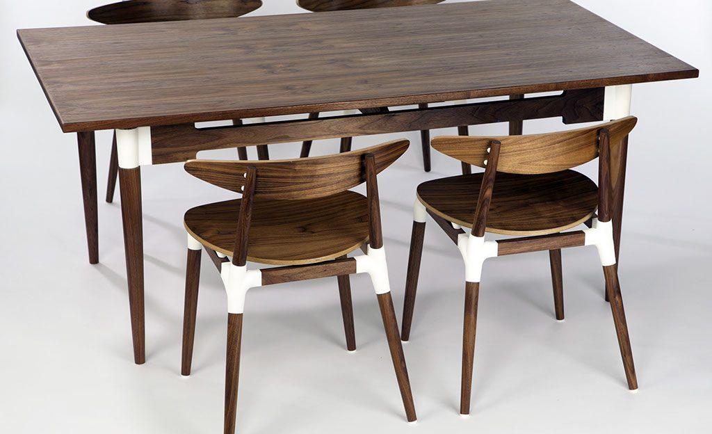 Изучение 3D-печати в дизайне мебели: современная мебель Jon Christie