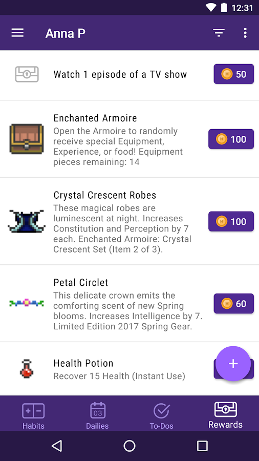 Habitica: Gamify Your Tasks- screenshot