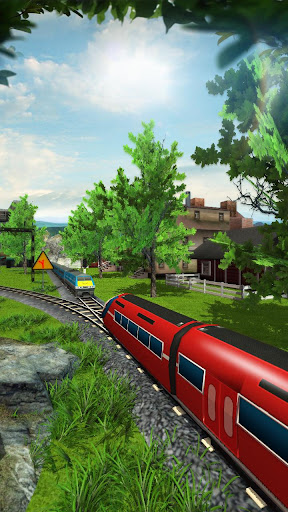 Euro Train Racing 3D screenshot 2