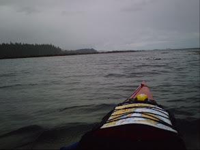 Photo: Approaching False Head on Vancouver Island.