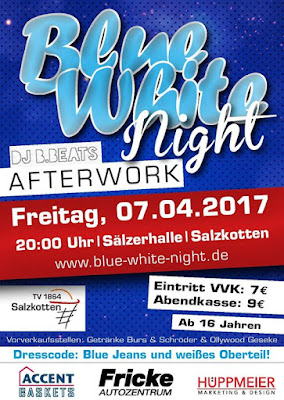 Blue-White-Night am Freitag in der Sälzerhalle