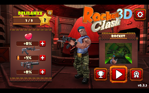 Rocket Clash 3D - Explosive Shooter 1.0.1 screenshots 1