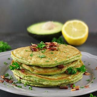 Avocado & Bacon Pancakes