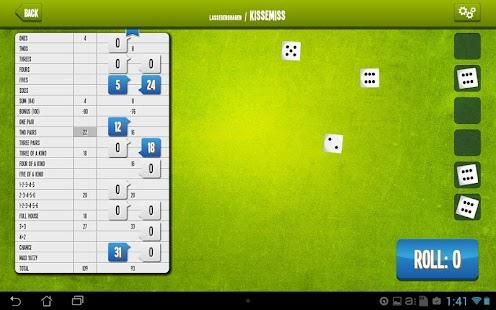 Yatzy Online- screenshot thumbnail