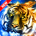 Cool Tiger Wallpaper icon