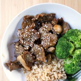 Teriyaki Beef & Veggie Stirfry