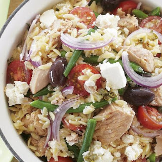 Nicoise Orzo Salad