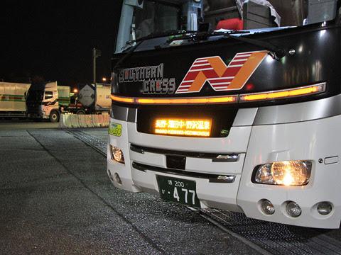 南海バス「サザンクロス」長野線 ・477 草津PA(第2駐車場)にて_02