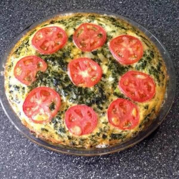 Spinach Tart Recipe