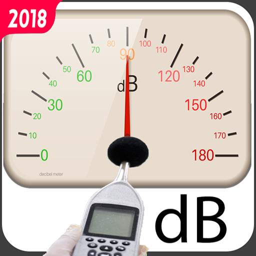 sound meter decible - noise meter