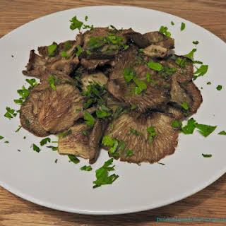 Grilled Oyster Mushrooms.