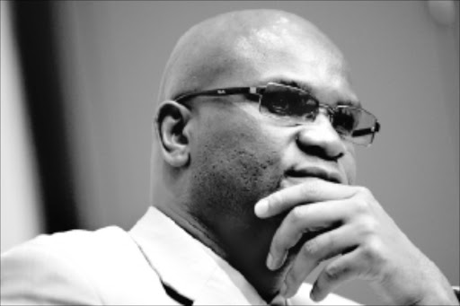 TALKING TOUGH: Minister of Police Nathi Mthethwa addressed journalists in Cape Town yesterday. Pic: Esa Alexander. 22/07/2009. © Sunday Times..