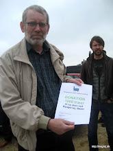Photo: Jørgen Bak og Fællesrådets donation på 1000 træer