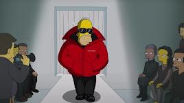 Imagen de Homer durante el capítulo del desfile.