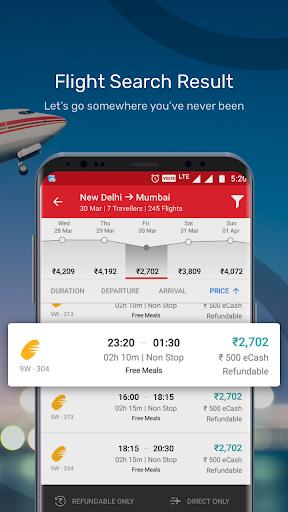 Yatra - Flights, Hotels, Bus, Trains & Cabs 13.0.16 screenshots 3