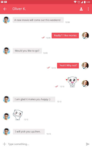 DateWay - Chat Meet New People Screenshot