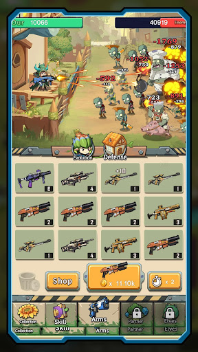 Zombies Battle-Plants Hunter screenshot 7