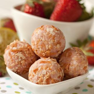 Strawberry Lime Truffles