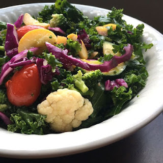 Best Recipe Cauliflower Kale Salad for a Superfood Salad.