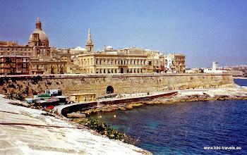 Photo: 1996-07-07. Valletta. English Curtain.  www.loki-travels.eu